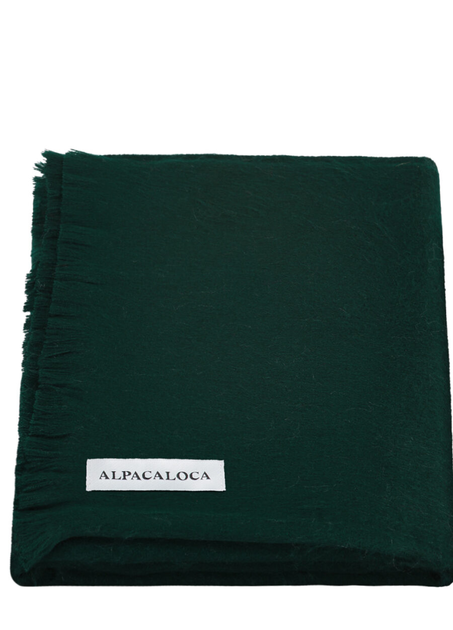 scarf-forest-green